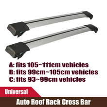 2x Car Roof Rack Cross Bar With Lock Anti-theft SUV 4X4 Top 150LBS Cargo Luggage Carrier Universal For Jeep Auto Car Offroad(China (Mainland))