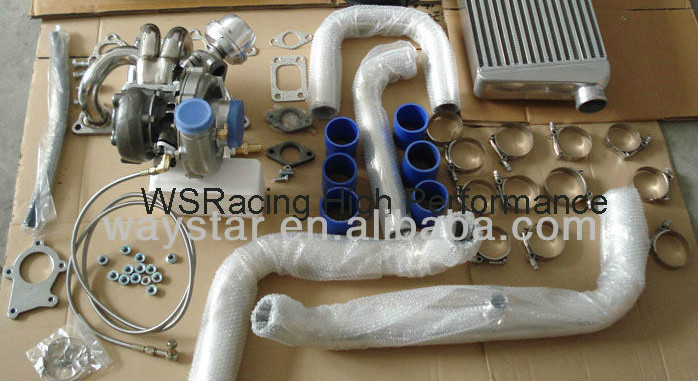 complete turbo kit honda civic b series /d - Shanghai Waystar Auto Parts Co., Ltd. store
