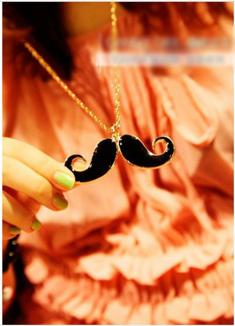 N00232 Fashion Korean Popular Models Dripping Beard Long Sweater Chain Necklace - wuhuanhuan712 store