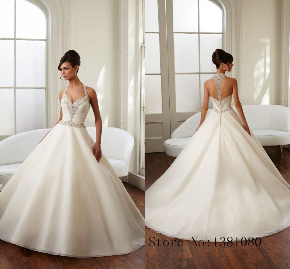 Online buy wholesale ivory dress from china ivory dress for Backless wedding dresses designer