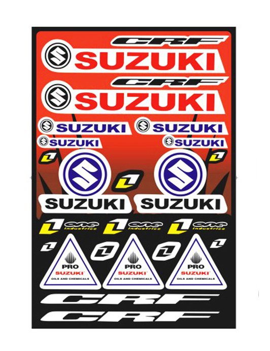 Motorcycle Sticker ATV sticker 2014 New - Autotop Selected store