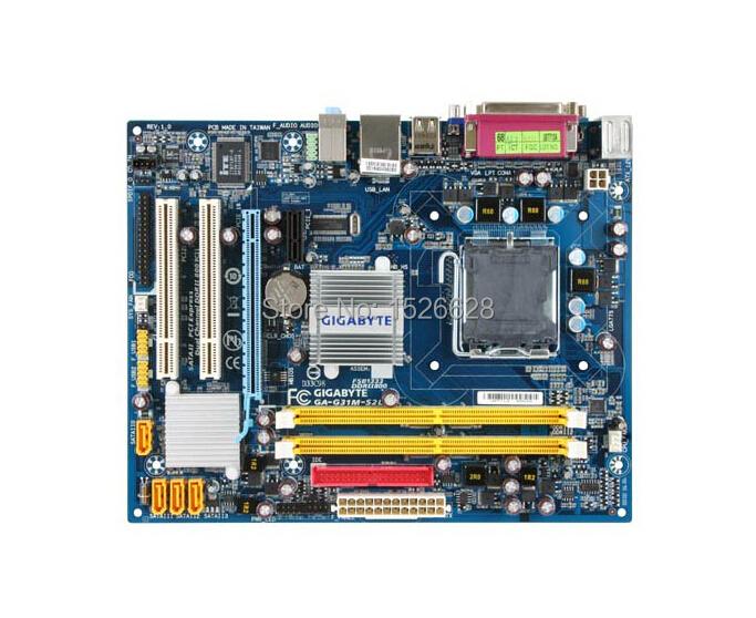 Free shipping 100%original motherboard for Gigabyte G31M-S2L  G31 DDR2  LGA 775  Motherboard<br><br>Aliexpress