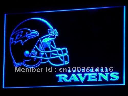 b312-b Baltimore Ravens Helmet NEW Bar LED Neon Light Signs(China (Mainland))