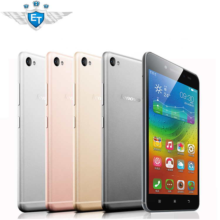 "Original Lenovo S90 Sisley Cell Phones Snapdragon 410 Quad Core 5"" 1280x720 Android 4.4 13MP Camera 2GB RAM 4G LTE Hot Sale Gold(China (Mainland))"