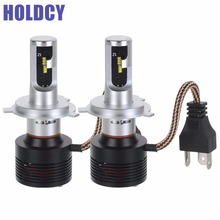 Buy H4 Hi/Lo H1 H7 9005 H11 9006 9012 HIR2 LED Car Headlight 60W 8400lm 6500K one Car LED Headlight fog Lamp Auto Headlamp for $38.65 in AliExpress store