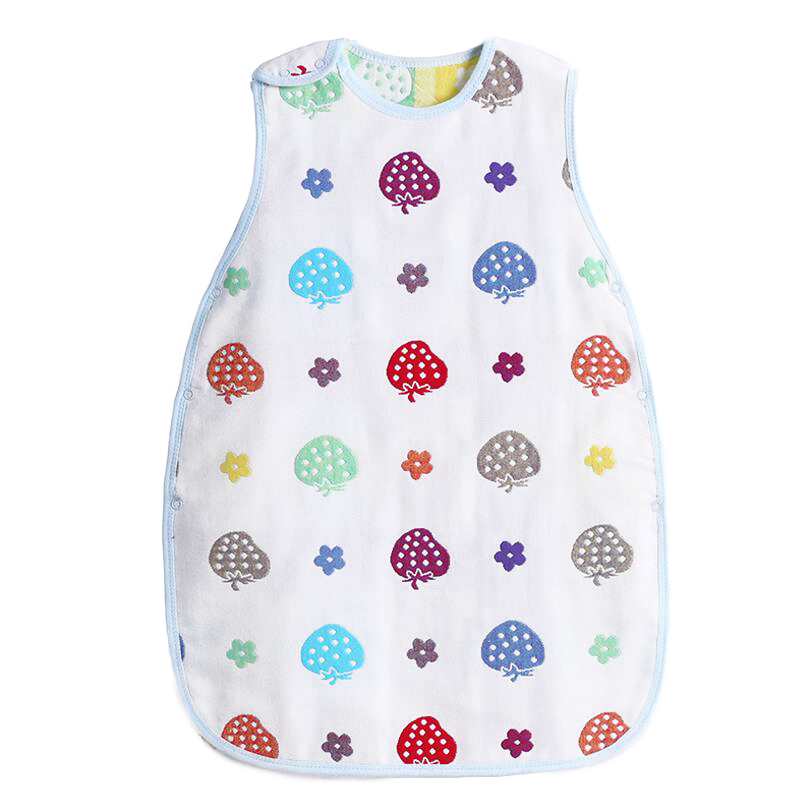 Cotton Vest Sleeveless Baby sleeping bag summer envelopes for newborns sleeping bag for babies sleeping cover Bag wheelchairs(China (Mainland))