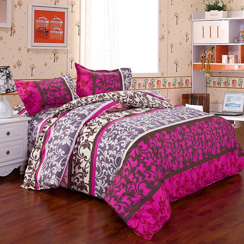 christmas bedding set 4pcs 3pc girls queen size bedding twin bed comforter sets kids single. Black Bedroom Furniture Sets. Home Design Ideas