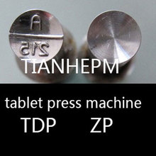 mold/die set/punch for the single punch tablet press machine/M stamp/ with design mould