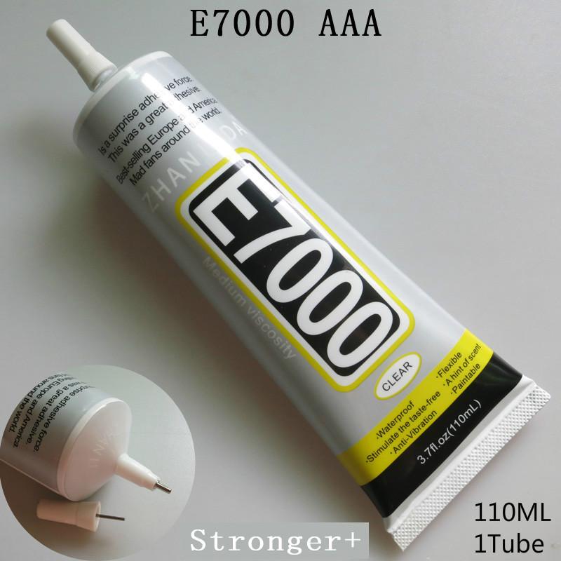 E7000 Glue 110ml Multi purpose E-7000 Jewelery Adhesive Diy Jewelry Crafts Glass Touch Screen Cell Phone Repair Stronger than B7(China (Mainland))