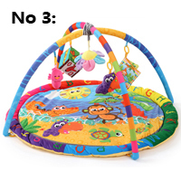 Cotton Play Gym Mat With Rack Baby Play Mats Educational Carpet Soft Puzzle Mat Game Blanket Pad Baby Toys Musical Crawling Mat(China)