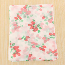 Hot Sale Wax Paper Beautiful Paper Wrapping Waxed Paper Waterproof Greaseproof For Candy Pastr 11cm x8cm(China (Mainland))
