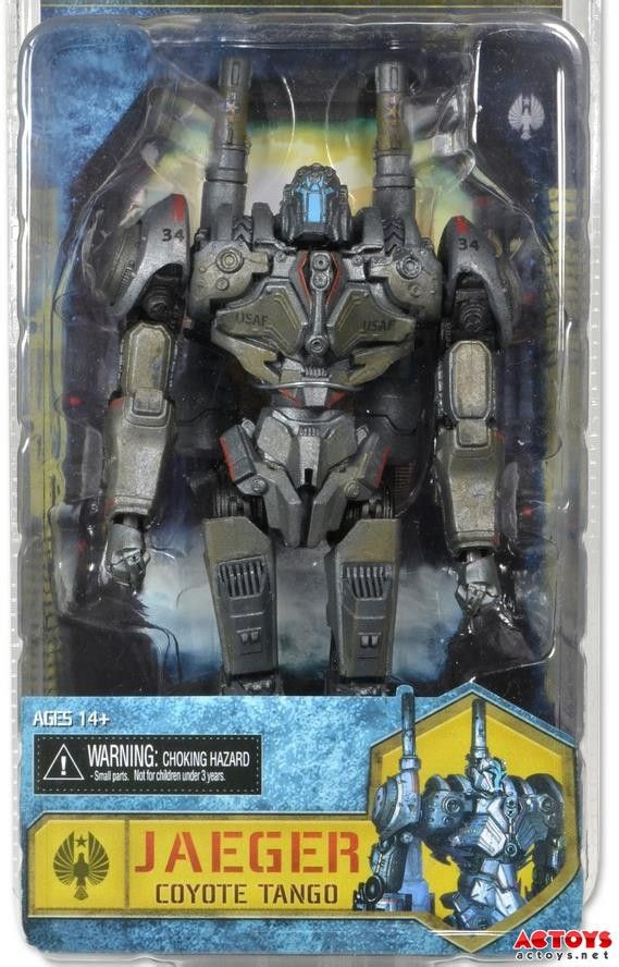 "Pacific Rim 7""Jaeger Japan Coyote Tango Classic toys for boys birthday gift PVC action figures in original box(China (Mainland))"