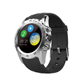 Smart Watch Phone Waterproof Support SIM Card With Camera GSM GPS Heart Rate Monitor Relogio Inteligente