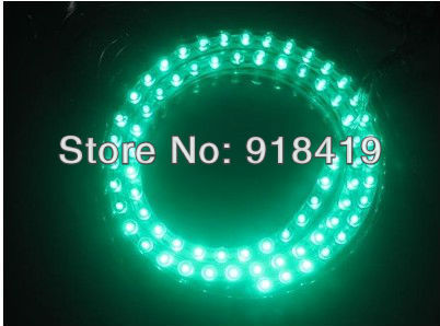 Green 72cm LED Decortaion Flexible Grill Strip Light Bulbs Car Truck Waterproof
