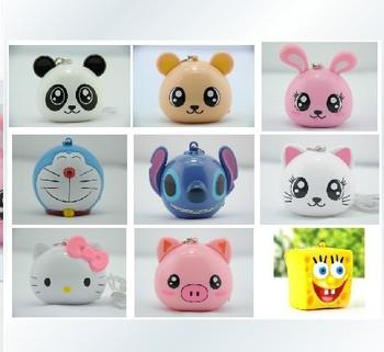 Cute animals portable speaker portable mini cartoon speaker MP3/MP4 / mobile phone audio