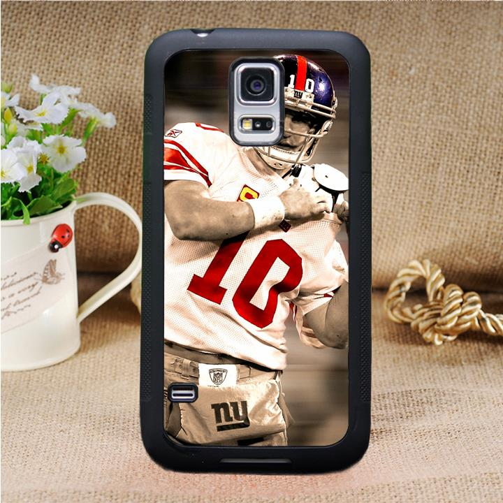 ny New York giants Eli Manning phone case cover for Samsung galaxy S3 S4 S5 S6 S6 edge S7 S7 edge Note 3 Note 4 Note 5 H8537(China (Mainland))