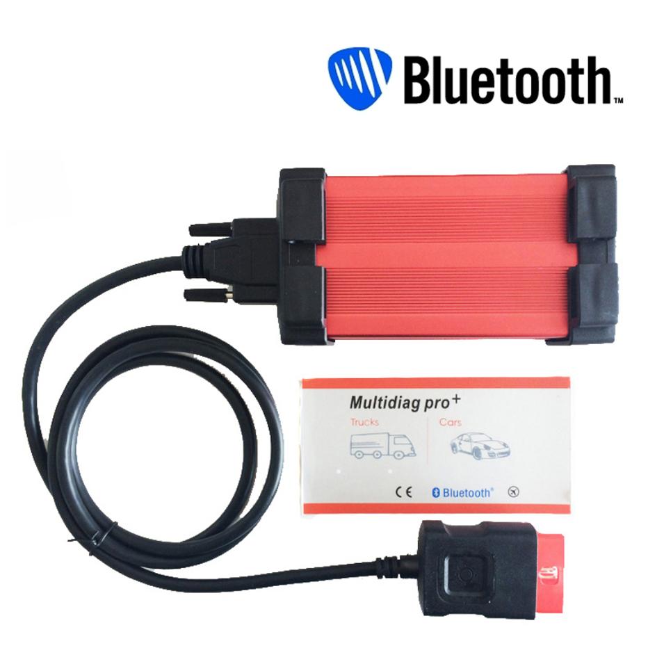 2015 New Design tcs cdp Multidiag pro+ 2014.2 version plus bluetooth + carton box free shipping best price best quality(China (Mainland))