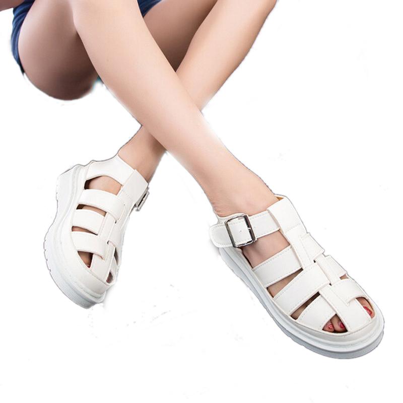 2015-Summer-Simple-Fashion-Designer-Shoes-Velcro ...