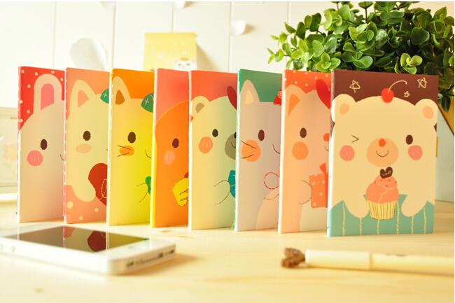 10 Kawaii Cat Rabbit Bear Diary Notebook Student Rewarding School Office Supplies Stationery Papelaria Filofax material escolar <br><br>Aliexpress