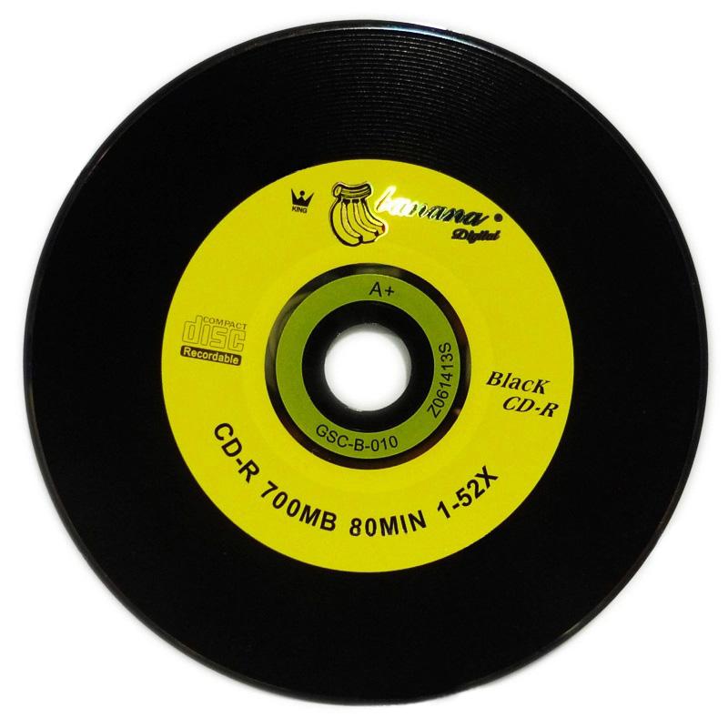 ESLOTH R700 Universal CD-R 700MB 80MIN 1-52X 12cm Double - Sided Vinyl Car and DJ Music Car CD Optical Drives Cases Blank Disks