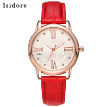 Fashion Casual Luxury Womens Watches High Quality Leather Quartz Ladies Watch Waterproof Hour Wristwatch For Women Orologi Donna