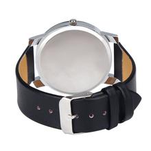 Excellent Quality Relogio Feminino Women Analog Quartz Dial Hour Watch Leather Wristwatch Reloj Mujer Round Case