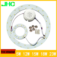 5W 12W 15W 18W 23W LED Ring PANEL Circle Light AC85-265V SMD 5730 LED Round Ceiling board the circular lamp board