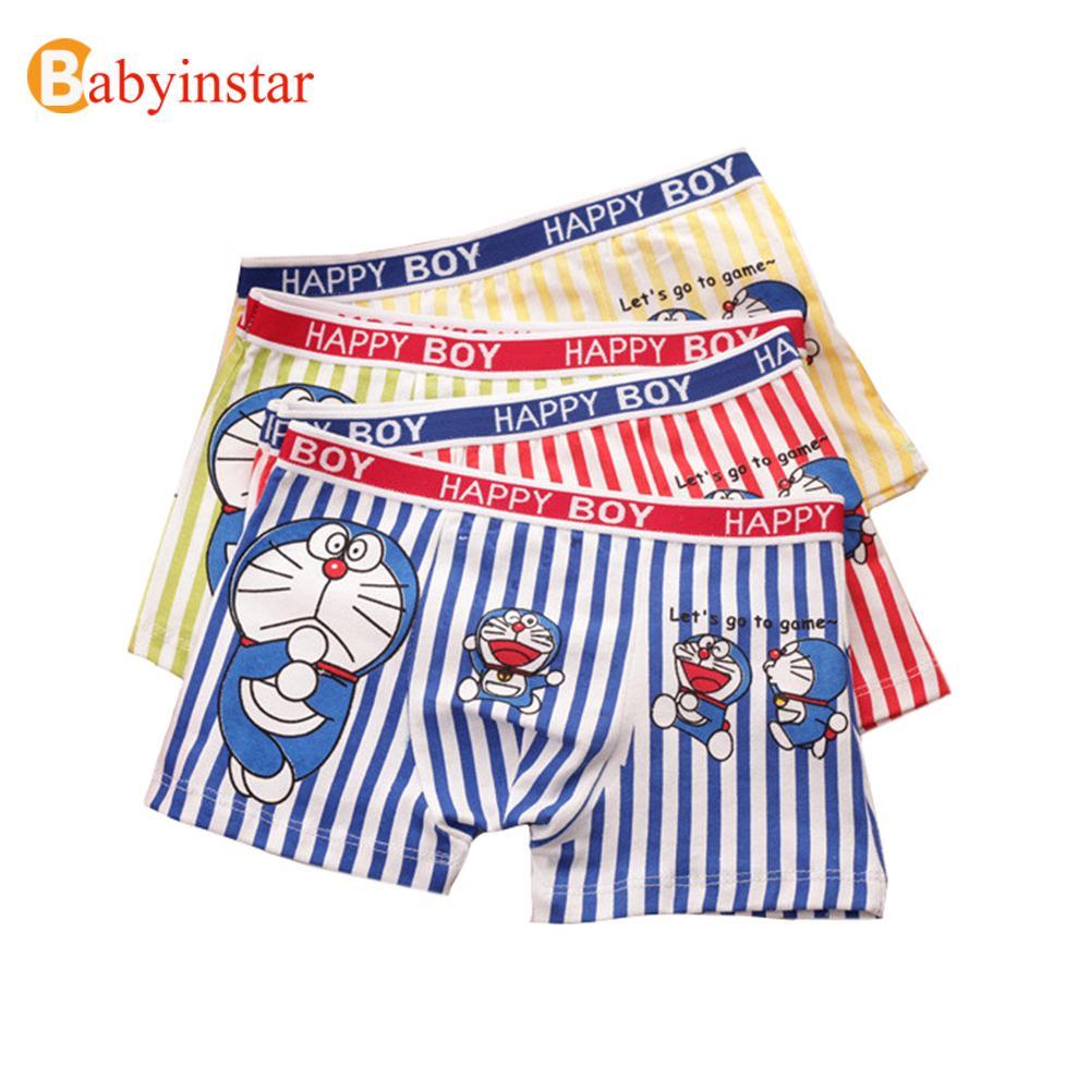 6Pcs/Lot Kids Boys Briefs Underwear Children Cotton Cartoon Patterns Soft Cute Lovely Panties Boxers Kid's Accessories(China (Mainland))