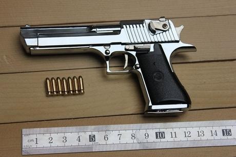 1: 2.05 Desert Eagle pistol model,full metal guns toy, gun model, - GreatMallChina,Ltd store