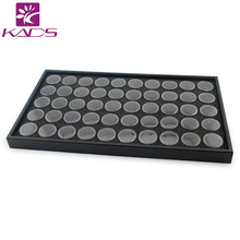 BeautyNailArt  50 Pots Nail Art Display Box For Show Nail Decoration Products Tool Nail Empty Bottle NAIL ART TOOL