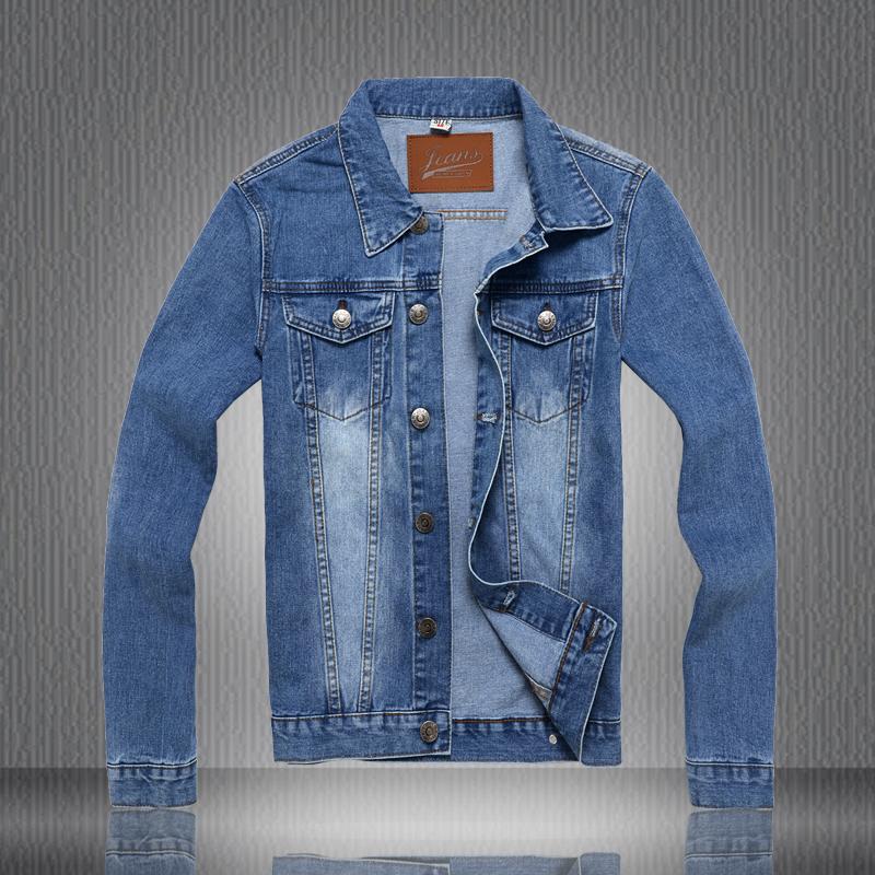 2015 New fashion men jacket handsome people cotton thicken denim clothingОдежда и ак�е��уары<br><br><br>Aliexpress