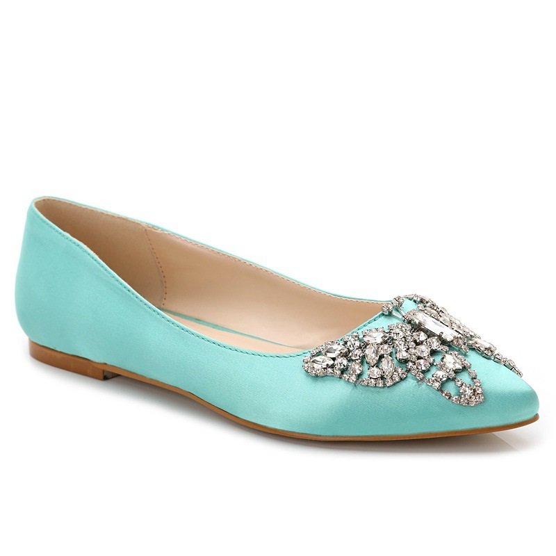 Size 34-43 Butterfly Rhinestone Loafers Women Flats Ladies Channel Shoes Woman Chaussure Femme Zapatos Mujer Sapato Feminino<br><br>Aliexpress