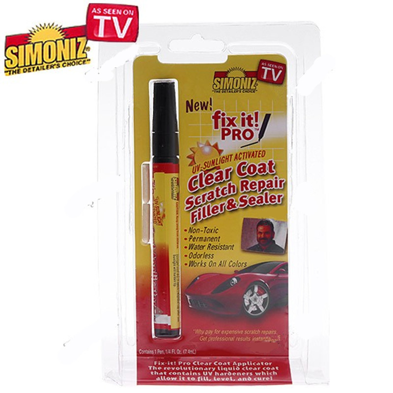 Fix It Pro Clear Universal Car Scratch Repair Remover Pen Simoniz(China (Mainland))