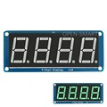 0 56 Emerald green LED 4 digit display tube Module 7 segment with Decimal Point for