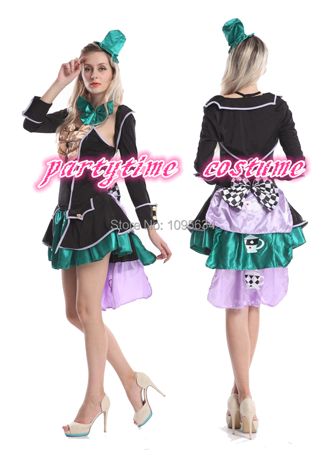 alice in wonderland mad hatter tea party costumes