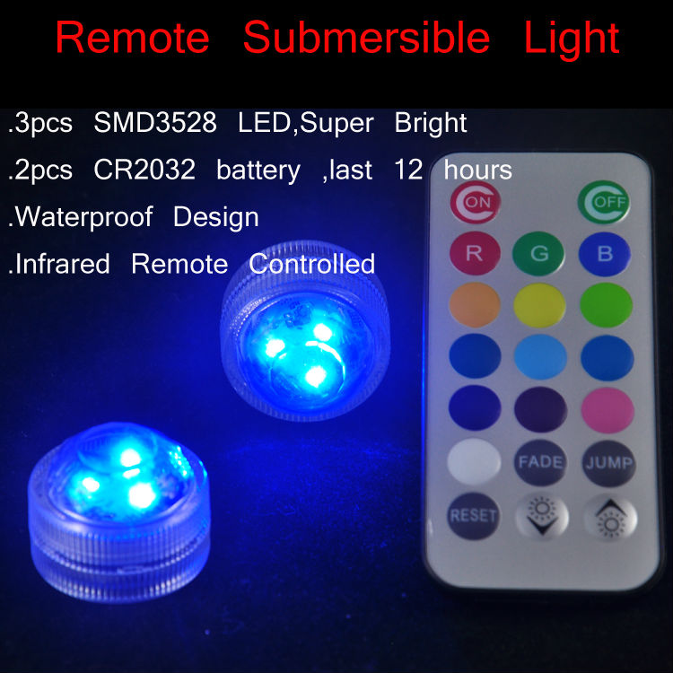 Remote LED Submersible Light