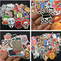 1 100pcs mixed decal Car Styling Skateboard Laptop Luggage Snowboard Car Fridge Phone DIY Vinyl Decal