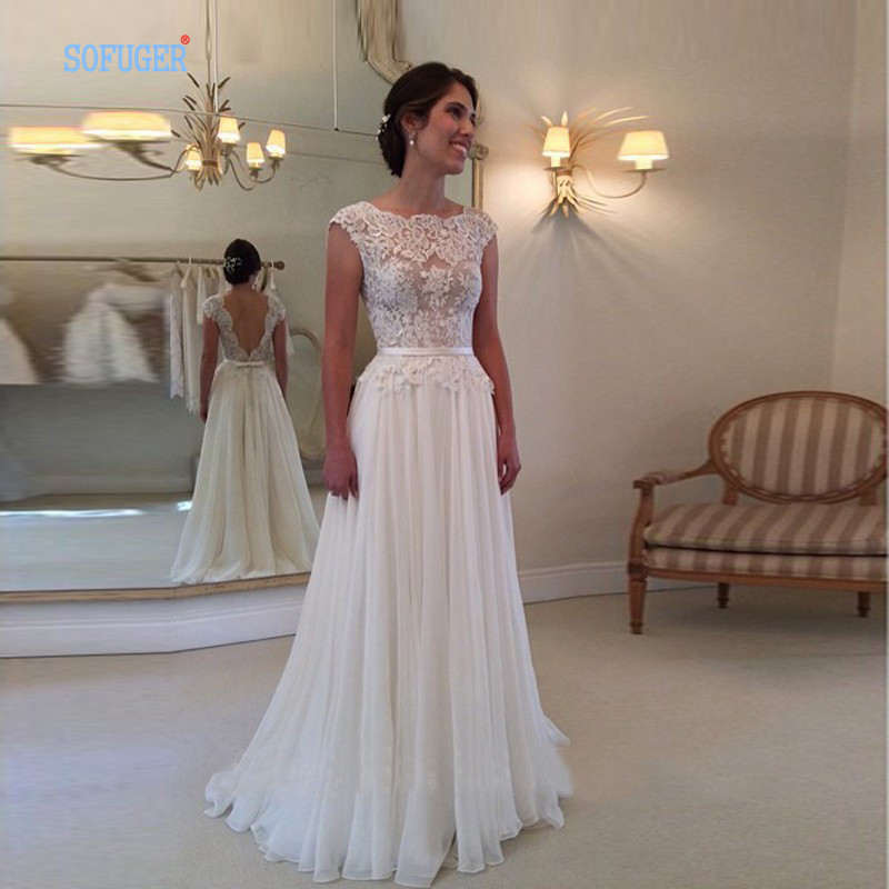 Backless Lace Wedding Dresses Buy Online 23