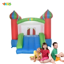 YARD Free Shipping Bouncy Castle Cheap Inflatables Slide Bouncer Child Playground For Kids Special Offer For ASIA(China (Mainland))