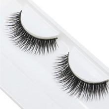 2016 Best Deal New High Quality  Natural Beauty  Dense A Pair False Eyelashes Charming Eye Lashes Makeup 1pc(China (Mainland))