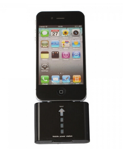 1000mAh External Portable Mobile Battery Power Station For iPhone 4 4s(China (Mainland))