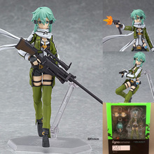 Free Shipping PVC F 241 GGO Action Figure SAO Brand Anime Sword Art Online 2 Model Toy Joints Movable Interchangeable