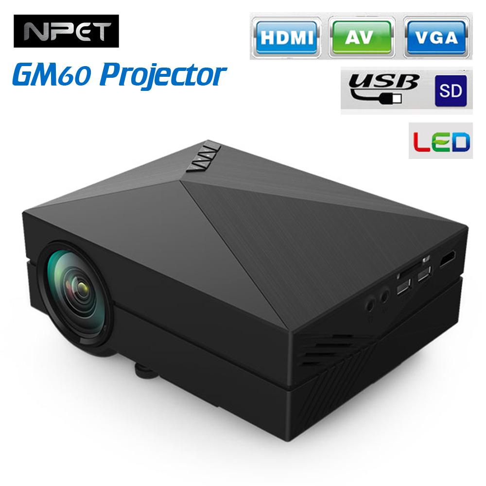 Проектор Gm60 800l 3d/hd
