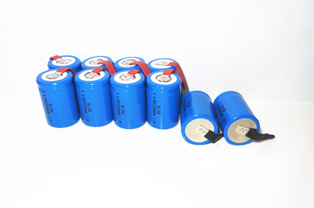 1x Ni-Cd 4/5 SubC Sub C 1.2V 2200mAh Rechargeable Battery Tab - Blue Color 2014 store