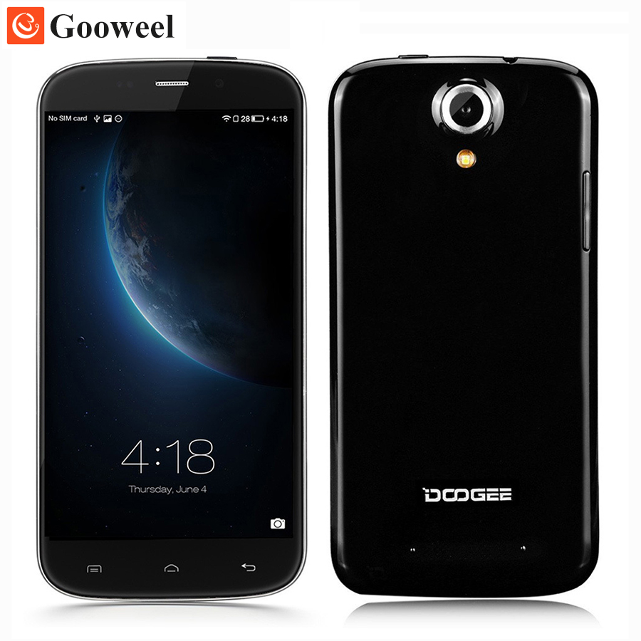 DOOGEE NOVA Y100X Smartphone Bezelless 5.0 Inch OGS Gorilla Glass MTK6582 quad core Android 5.0 cell phone