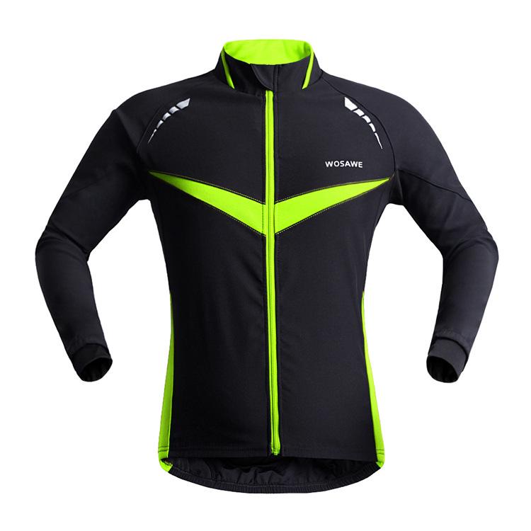Men Breathable Thermal Cycling Jacket Winter Warm Up Bicycle Clothing Windproof Waterproof Soft shell Coat MTB Bike Jersey B266(China (Mainland))