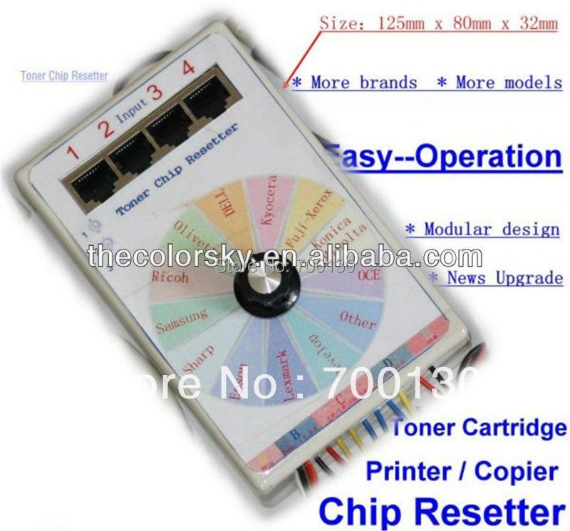 (CS V13) universal omnipotent toner cartridge chip