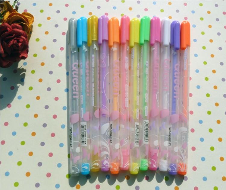 Handmade diy paste type photo album child baby photo album clipbook pastels, pen neon pen 12