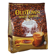 Old town white coffee original instant coffee three in 480g 12 bag