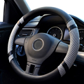 YIKA Stylish Soft Breathability Skidproof Auto Steering Wheel Cover Universal Fits Most Car Styling